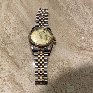 18K PL Rolex watch